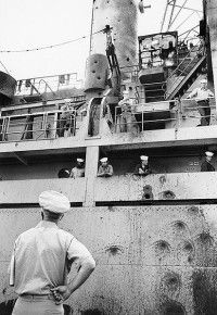 Israel's Attack on the USS Liberty. My dad was on this ship during the attack.