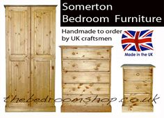 Somerton Pine Bedroom Furniture
