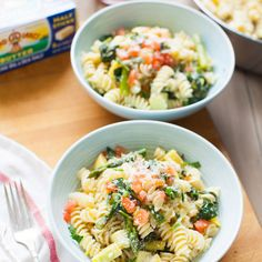 Summer Vegetable Pasta Recipe Main Dishes with pasta, Land O Lakes® Butter…