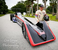 "NHRA Story » Drag racing icon Don ""Big Daddy"" Garlits sets electric-vehicle record: The drag racing icon added another record to a long list of achievements April 30 when his newest machine, Swamp Rat 37, set the new quarter-mile record for an electric vehicle with a pass of 7.258 seconds at 184.01 mph, eclipsing the old records 7.95 and 156.00 mph."