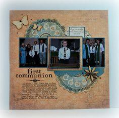 Rose Blossom Legacies: First Communion
