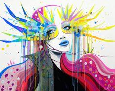 Lámina Flora por PixieColdArt en Etsy