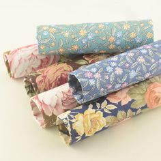 Sewing Scarves, Fabric Suppliers, Cotton Twill Fabric, Floral Tie, Textiles, Pillows, Fabrics, Cushions, Pillow Forms