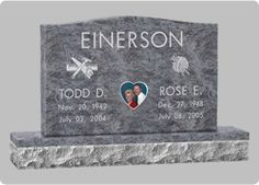 Gravestone Design Markers | Cemetery Markers | Grassmarkers Designs | Headstone Designs