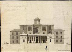 [Alzado de un proyecto de observatorio astronómico]. Anónimo español s. XIX — Dibujo — 1812