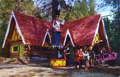 Brown Roofs, Enchanted Castle, Santa's Village, Visit Santa, Old Postcards, Toy Soldiers, Aerial View, Road Trip, California