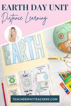Earth Day activities are so important! This Earth Day resource will engage your students! It is a FUN and INTERACTIVE unit for Earth Day! This unit will cover a great deal of topics that you will be discussing and teaching about for Earth Day all wrapped up in a FUN and ENGAGING FLIP FLAP BOOK® and/or Lapbook! Grammar Activities, Interactive Activities, Writing Activities, First Grade Teachers, 1st Grade Math, Second Grade, Teacher Resources, Classroom Resources, Teaching Ideas