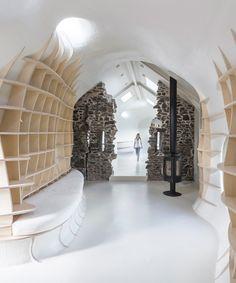 lily jencks + nathanael dorent transform 17th century ruins into contemporary country home