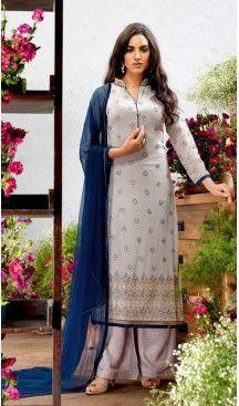 Georgette Fabric Evening Wear Straight Cut Dresses in Slate Grey Color | FH523579303 #pakistani , #evening , #dress , #heenastyle , #party , #wear , #anarkali , #salwar , #kameez , #dupatta , #churidar , #suit , #fashion , #online , #shopping , #casual , #designer , @heenastyle , #store, #shop , #boutique , #straight , #georgette , #fabric