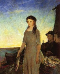 by Charles Webster Hawthorne (1872 - 1930)