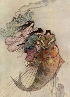 Japanese Fairy Tale | Illustrations and posters