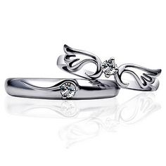 I really want to get this. - $26.75 With You Forever Zircon Couple Rings