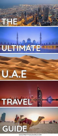 United Arab Emirates Travel Guide: What to See, What to Do, and What to Eat Cool Places To Visit, Places To Travel, Travel Destinations, Places To Go, Dubai Travel, Asia Travel, Travel Couple, Family Travel, Travel Guides