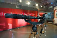 Arriflex with 1000mm lens