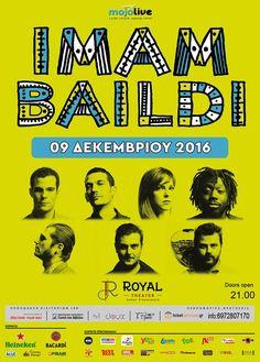 Η χειμερινή μας περιοδεία ξεκινά από την Πάτρα!Σας περιμένουμε! #imambaildi Royal Doors, Bacardi, Beach Club, Discover Yourself, Greece, Posters, Heineken, Poster, Grease