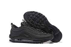 best sneakers 94ce5 4fdde Nike Air Max 97 Women All Black Nike Trainers, Nike Sneakers, Adidas Shoes,