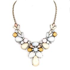 Northern Lights Necklace White