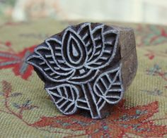 Fabric pattern stamps, textiles