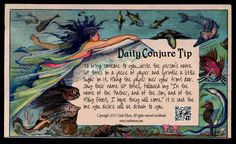 Daily Conjure Tip: To bring someone to you
