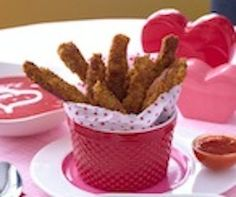 Sneaky Chef Parmesan Chicken Fries