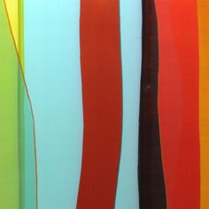 Colors, Colors, Colors – To Light Up Everyday Life. Glass textile by Andrea Hegedus. Photo by Andrea Hegedus.