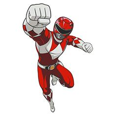 The Mighty Morphin Power Rangers Red Ranger Wall Decal is for the leader in your squad who sometimes has a quick temper. The Repositionable MMPR Red Ranger wall decal comes in three large wall sticker sizes: Officially Licensed by Saban. Power Rangers Poster, Power Rangers Helmet, Power Rangers Comic, Go Go Power Rangers, Large Wall Stickers, Wall Decals, Power Rangers Morphin, Power Ragers, Ranger Armor