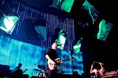 Radiohead perform at the Entertainment Centre, Australia