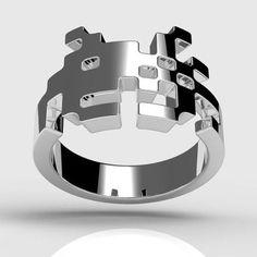 invader ring