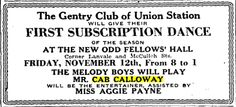 One of the earliest ads with Cab Calloway's name: 1926_1106_baa_melody_boys_and_cab_calloway.png