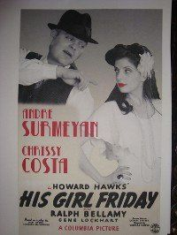 """I love the idea of the wedding program or maybe the """"save the date"""" in the fashion of an old movie poster."""