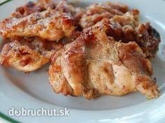 Grilované kuracie stehná v medovo-horčicovej marináde - Výborná marináda na kuracie mäsko