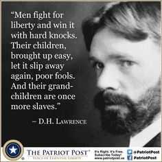 Quote: Lawrence on Liberty — The Patriot Post