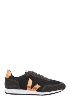 Sneakers noires toile Paul Veja sur MonShowroom.com