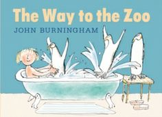 The Way to the Zoo by John Burningham. Sylvie finds a door in the middle of her bedroom wall that leads to a zoo. Each night she brings an animal back to her room to sleep. Can she keep this a secret? New Children's Books, Good Books, Le Zoo, Book Sites, Book Corners, Big Animals, Most Beautiful Animals, Children's Picture Books, 10 Picture
