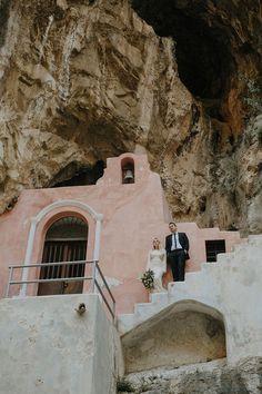 intimate Amalfi Coast elopement in Furore | Pinterest: Natalia Escaño