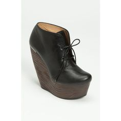 Lanvin 'crazy' Wedge Oxford (24,315 PHP) found on Polyvore