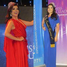 Daniela Cepeda Miss Ecuador 2017 en lo que fue su rueda de prensa de despedida.