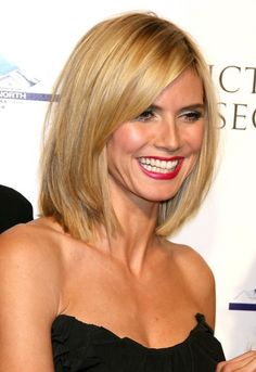 Growing my hair long, but really liking this cut on Heidi.  Maybe for Fall.