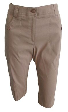 Lime Crime (Toffee) Jamie Sadock Ladies Golf Capris available at   lorisgolfshoppe Golf Attire 49a6d6c699eb