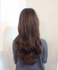 Chocolate brown balayage by Nienke @ Salon B, Almere