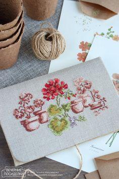 Конверт для семян / Envelope for seeds - Вечерние посиделки