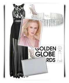 """""""[ GOLDEN GLOBE CONTEST ENTRY 05 ]"""" by literallybands ❤ liked on Polyvore featuring Three Floor, Red Herring, RED, Schutz and Aspinal of London"""