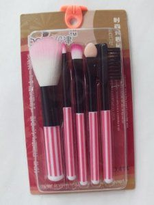 5 Pieces Facial Make Up Brush Set Beauty Tool by Topai. $5.11. Lip Brush: Start at the center and work your way toward outer comers for even coverage. Precision Concealer Brush: Use brush as you would fingertips to aplly concealer. Set with powder. Two-purpose Eyebrow Comb: Approach the comb on eyebrow, cut the eyebrow which is outside of the comb. All Over Eye Brush: Apply base color across lid, then sweep darker color into cresase, use lightest shade along brow a...