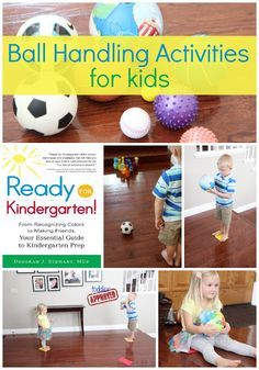Toddler Approved!: Ready for Kindergarten Book Study: Ball Handling Activities for Kids