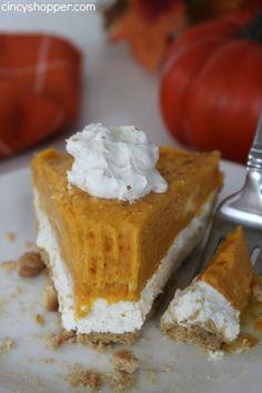 No-Bake 2 Layer Pumpkin Pie Recipes