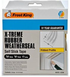 Frost King V23WA Extreme Rubber Ribbed Weather-Strip Tape 3/8-Inch by 1/8-Inch by 17-Feet, White Frost King http://www.amazon.com/dp/B000OZT84K/ref=cm_sw_r_pi_dp_wSzVub1VWYXH7