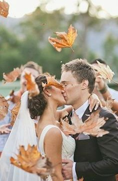 Fall wedding inspiration.