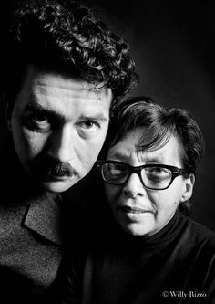 Marguerite Duras & Alain Robbe-Grillet Paris, 1966--when they expanded and exploded what a novel could be.