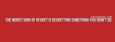 Regret Quote