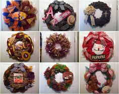 Elsie's Creative Designs is taking Custom Wreath Orders for Football Season, Fall, Thanksgiving,Halloween and Christmas so stop by and get those orders in ASAP there is a 2 week turn around time right now! https://www.etsy.com/shop/ElsiesCreativeDesign